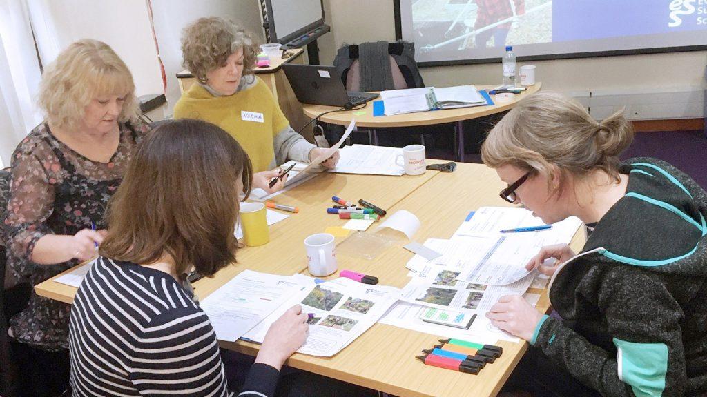 Image of evaluation workshop